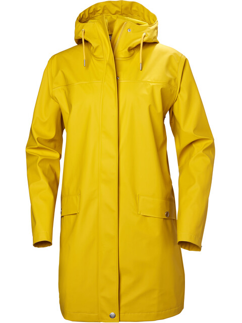 Helly Hansen W's Moss Rain Coat Essential Yellow
